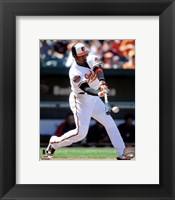 Framed Adam Jones 2012 Action