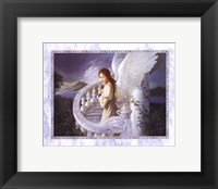 Framed Radiant Angel
