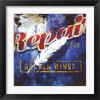 Framed Repair Your Broken Wings
