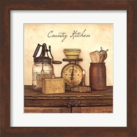 Framed Country Kitchen - square