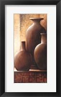Framed Vase Trio II