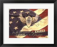 Framed U.S.A Guardian Angel