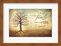 Framed Love Of Two Hearts