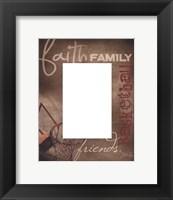 Basketball Photomat Framed Print