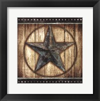 Framed Barn Star II