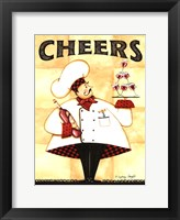 Framed Chef Cheers