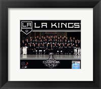 Framed Los Angeles Kings 2012 NHL Stanley Cup Champions Team Photo