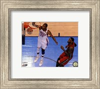Framed Kevin Durant Game 1 of the 2012 NBA Finals Action