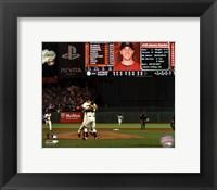 Framed Matt Cain throws a Perfect Game AT&T Park June 13, 2012