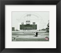 Framed Jim Bunning - No Hitter Printed Horizontal