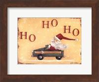 Framed Santa Express