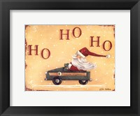 Framed Santa Express