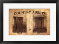 Framed Country Assets