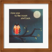 Framed To The Moon I