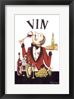 Framed Waiter Vin