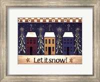 Framed Let It Snow