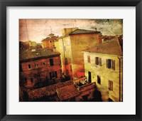 Framed Bird's-eye Italy II