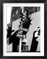 Framed Bond Street Billboard