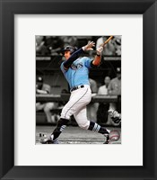 Framed Evan Longoria 2012 Spotlight Action