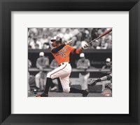 Framed Adam Jones 2012 Spotlight Action