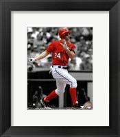Framed Bryce Harper 2012 Spotlight Action