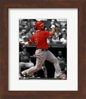 Framed Albert Pujols 2012 Spotlight Action