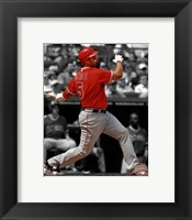 Framed Albert Pujols 2012 Spotlight Action