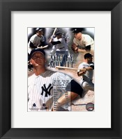 Framed Mickey Mantle Legends