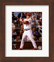 Framed Mike Trout 2012 MLB All-Star Game Action