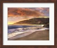 Framed Malibu Sun