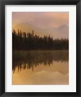 Framed Twilight Reflection I