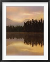 Framed Twilight Reflection II