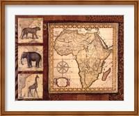 Framed Journey To Africa I