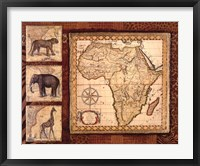 Framed Journey To Africa I