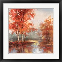 Framed Autumn's Grace I