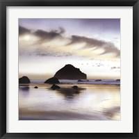 Framed Twilight On The Coastline