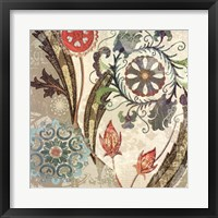 Royal Tapestry I Framed Print