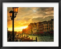 Framed Venice in Light IV