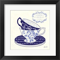 Blue Cups II Framed Print