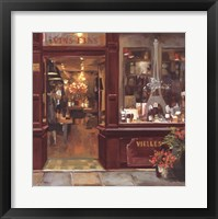 Framed Parisian Shoppe II