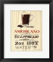 Framed Americano