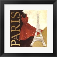 Framed Paris Dress - A Day in the City