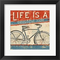 Framed Beautiful Ride I
