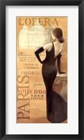 Ladies of Paris II Framed Print