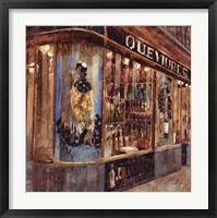 Framed Gourmet Shop
