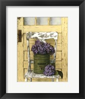 Framed Cottage Bouquet I
