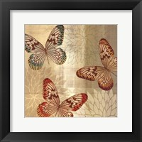 Framed Tropical Butterflies II