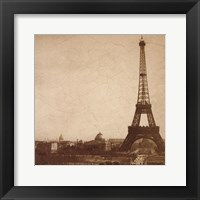 Framed Historical Paris