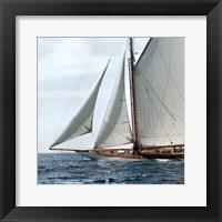 Framed Sailing South B
