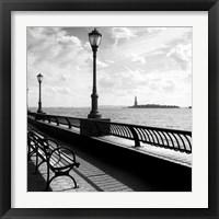 Framed Liberty Bench